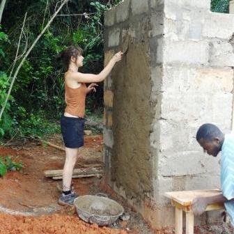 Chelsea B in Ghana